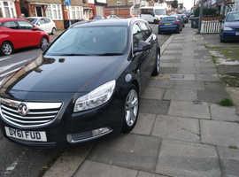 Vauxhall Insignia, 2011 (61) Black Estate, Manual Petrol, 141,000 miles