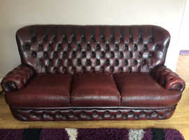 Thomas lloyd high back chesterfield and chair