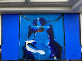 Original - Mixed Medium - Abstract Painting - 52x30 cm