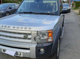 Land Rover Discovery, 2008 (08) Silver Estate, Automatic Diesel, 78,700 miles