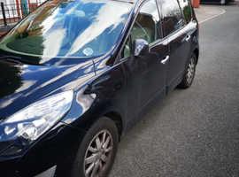 Renault Scenic, 2010 (60) Black MPV, Manual Diesel, 74,000 miles