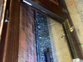 Free Woodgrain upvc door