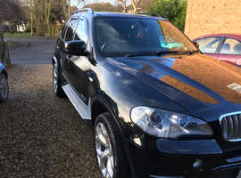 BMW X5, 2010 (60) Black Estate, Automatic Diesel, 90,303 miles