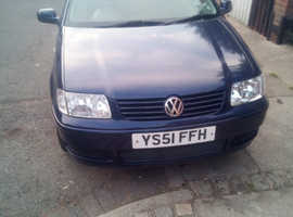 Volkswagen POLO 1.4 16V, 2002 (51) Blue Hatchback, Manual Petrol, 110,000 miles