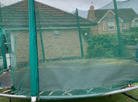 Trampoline and safety net (large size )