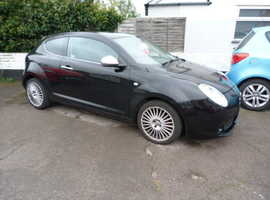 Alfa Romeo Mito, 2009 (59) Black Hatchback, Manual Petrol, 68,043 miles