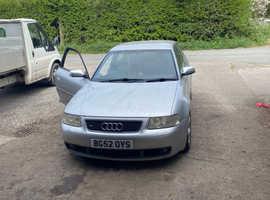 Audi S3, 2002 (02) Silver Hatchback, Manual Petrol, 124,000 miles