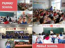 English teachers welcomed in Changchun,Jilin,China