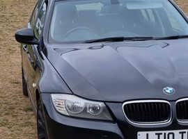 BMW 3 Series, 2010 (10) Black Saloon, Manual Diesel, 181,541 miles