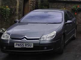 Citroen C5, 2005 (55) Grey Hatchback, Manual Diesel, 45,576 miles