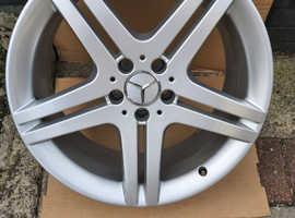 mercedes sl class alloy wheel,19 inch