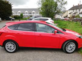 Ford Focus, 2013 (63) red hatchback, Manual Diesel, 85,500 miles