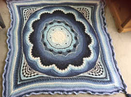 Stunning Crochet Throw