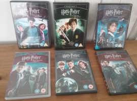 HARRY POTTER DVD,S
