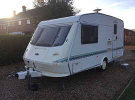 Elddis Vogue 2 Bert Excellent Condition & Full Size Awning (Just Had A Full Service By a caravan engineer specialist)