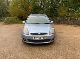 Ford Fiesta Ghia tdci Turbo Diesel 1.4cc 70 bhp 5 door h/back 55/2006 141k part service history 8 stamps in book