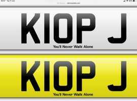 Juergen Klopp LFC Number plate