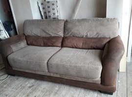 3 & 2 seater sofas.