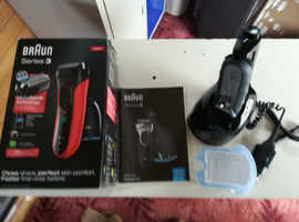 Braun series 3 wet and dry electric shaver