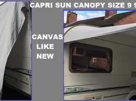 CARAVAN DOREMA CAPRI SUN CANOPY SIZE 9 940cm to 980cm