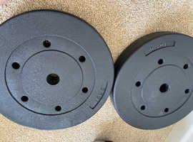 Weight plates - 40kg - 4 x 10kg