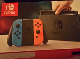 Nintendo switch brand new with box