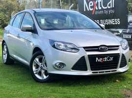 2013 Ford Focus 1.6 Zetec Very Very Low Mileage Example....Fabulous Value