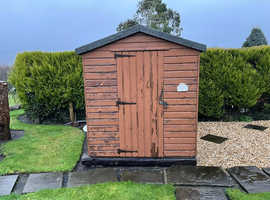 6ft x 8ft Shed