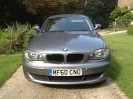 For sale: BMW 1 series, 2010 (60) Grey Hatchback, Manual Diesel, 151,092 miles
