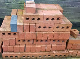 Red rustic bricks. Extra to requirements.