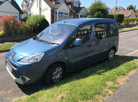 Peugeot Partner, 2009 (09) Blue MPV, Manual Petrol, 27,934 miles , Wheelchair adapted disabled accessible vehicle