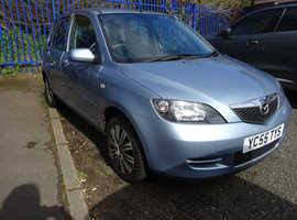 Mazda MAZDA 2, 2005 (55) Blue Hatchback, Manual Petrol, 114,000 miles
