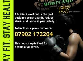 Fit, Punch, Defend BOOTCAMP