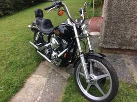 Harley Davidson 1450 Dyna. 1999