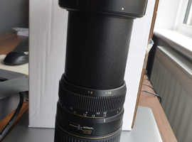 Tamron 70 - 300mm F/4-5.6 lens, Nikon fit, with UV filter. Original box and instructions.