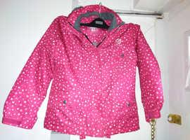 Girls Shredz ski coat, 128cm see description