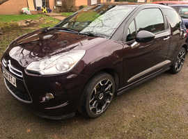 Citroen Ds3, 2015 (64) Purple Hatchback, Manual Petrol, 21,995 miles