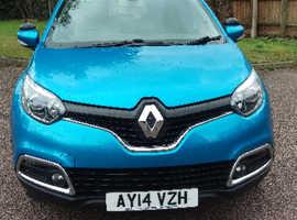 Renault Captur, 2014 (14) Blue Hatchback, Manual Petrol, 55,000 miles