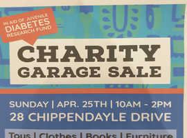 Charity Garage Sale - Sun 25th April - Harrietsham