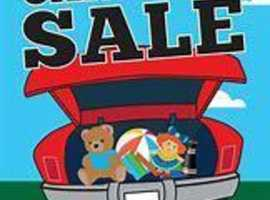 Car Boot Sale Extravaganza!!!! Do you have anything to sell that has been sitting in it's box for a long, long, long time? Well, come on down...