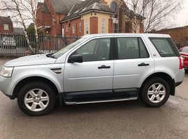 Land Rover Freelander, 2009 (09) Silver Estate, Manual Diesel, 115,000 miles
