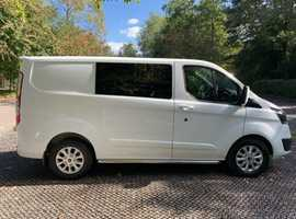 No Vat. 2014 Ford Transit Custom/ Kombo / Day Van / 6 Seater.
