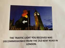 Traffic lights genuine item with plug perfect feature