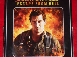'Bear Grylls: Escape From Hell' DVD & Magazine Set (new)