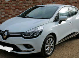 Renault Clio, 2018 (18) White Hatchback, Manual Petrol, 5,700 miles