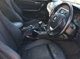 BMW 1 series M sport 2012 (62) Black Hatchback, Manual Diesel, 112,000 miles