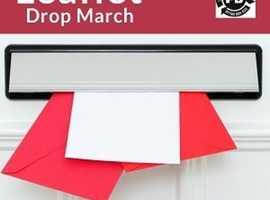 Leaflet Drop March