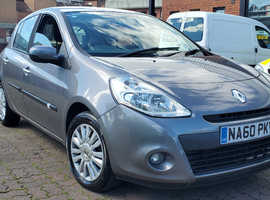 Renault Clio, 2010 (60) Grey Hatchback, Manual Petrol, 99,790 miles