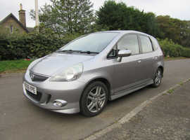 Honda Jazz, 2006 (56) Silver Hatchback, Manual Petrol, 96,680 miles