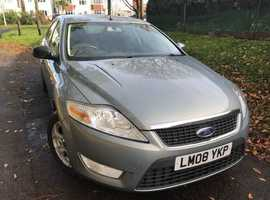 Ford Mondeo, 2008 (08) Grey Hatchback, Manual Diesel, 87,765 miles